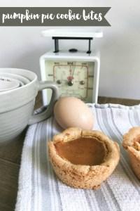 Pumpkin Pie Bites Egg Scale Measuring Cups