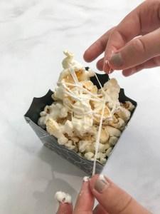 Making Marshmallow Popcorn
