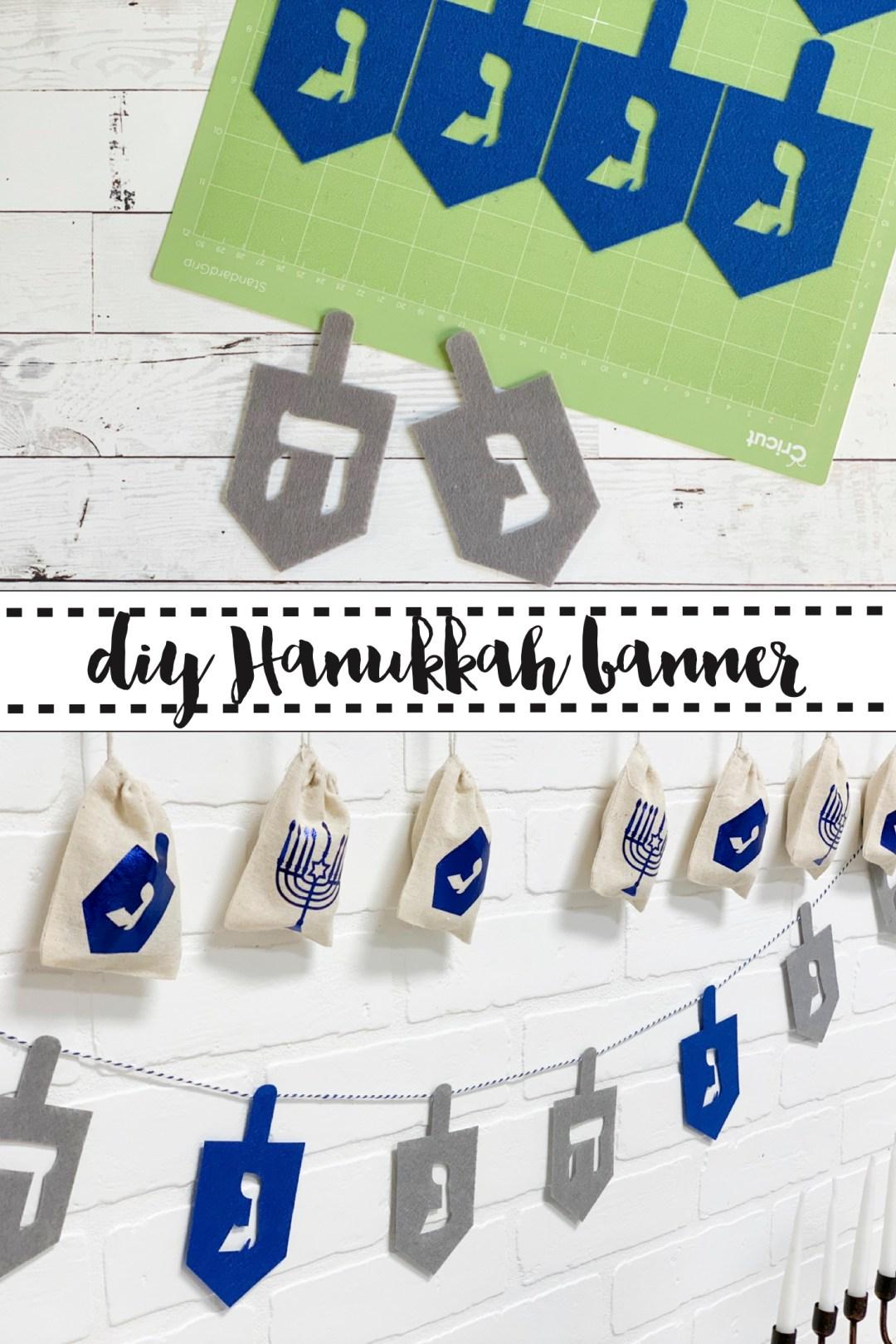 DIY Hanukkah Banner