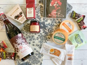 Holiday Cheese Tray Ingredients Stocking Holiday CD