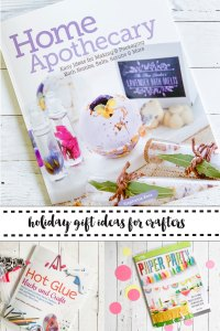 Home Apothecary Book Paper Party Book Glue Gun Hacks and Crafts Book