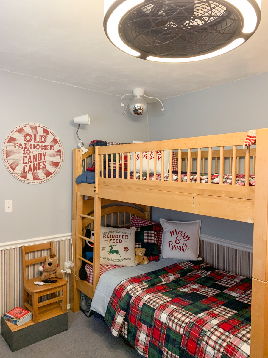 Pottery Barn Kids Bunk Beds Pottery Barn Kids Holiday Bedding