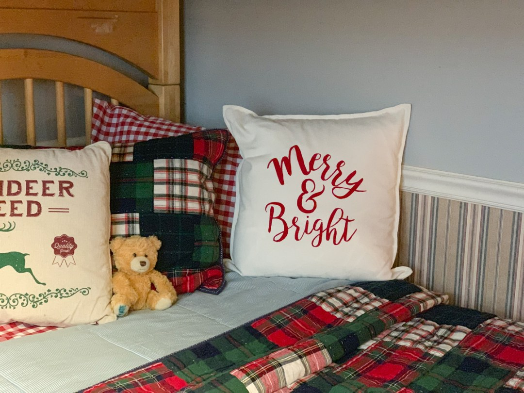 Pottery Barn Kids Holiday Bedding