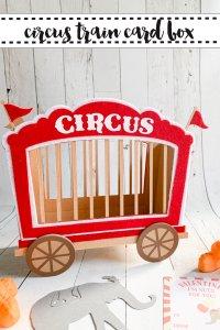 Circus Train Box