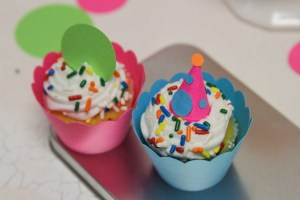 Bite Sized Cupcakes