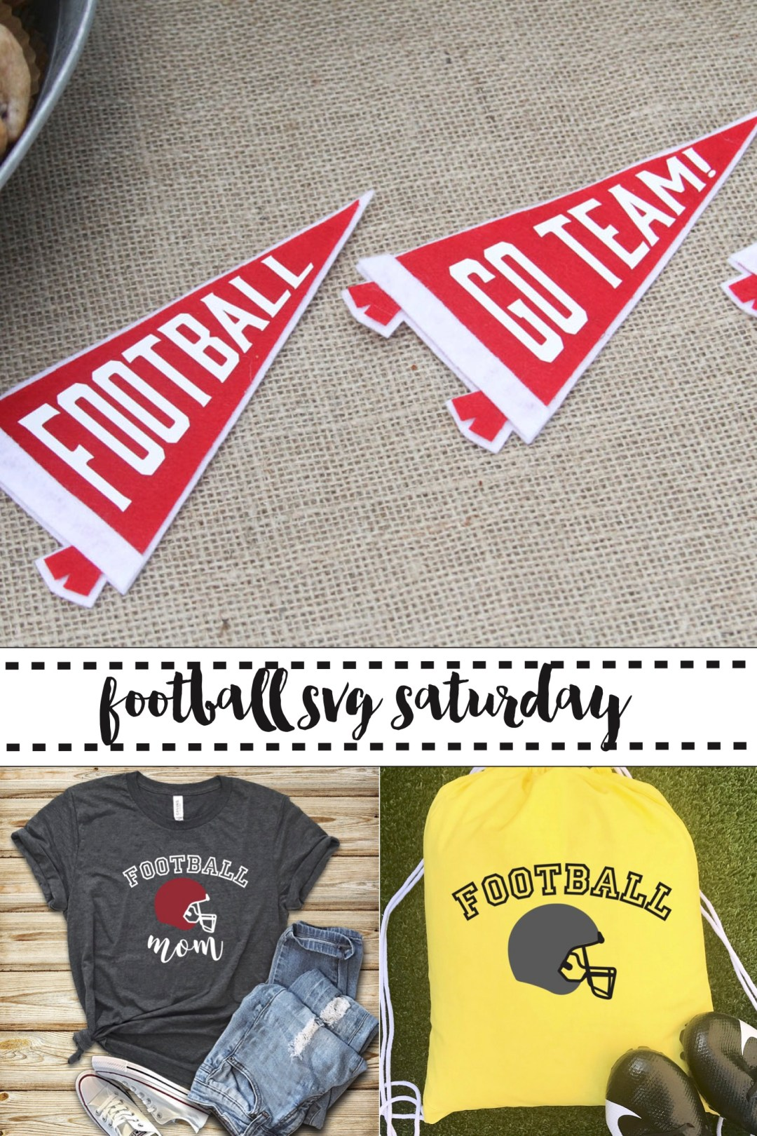 Football Pennants Football Shirt Football Bag