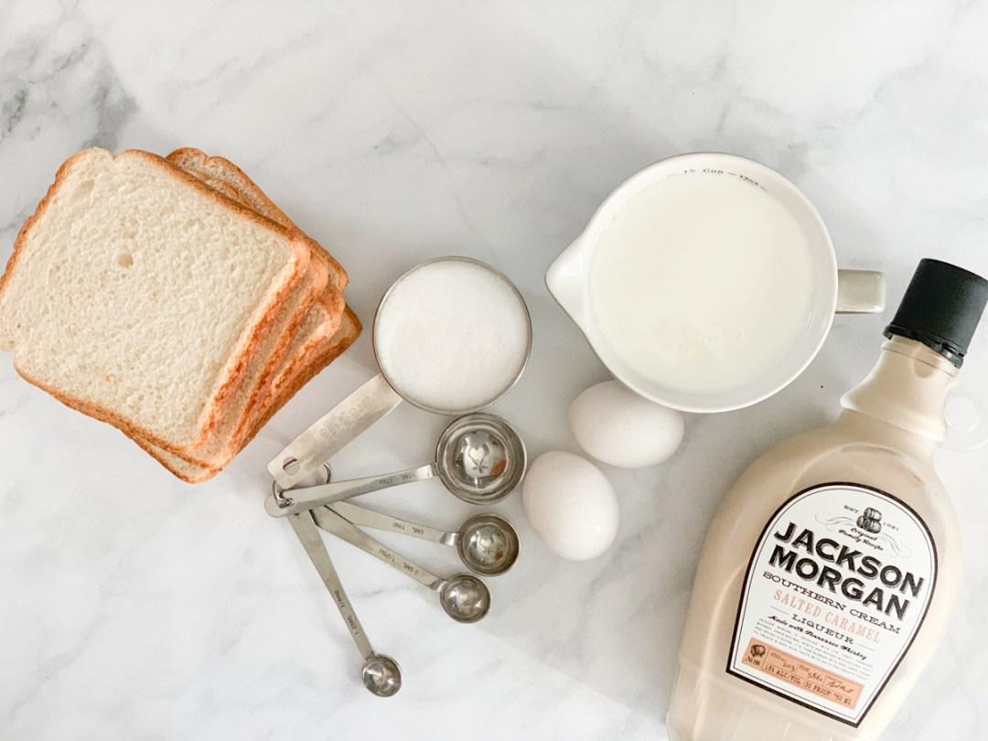 Bread Eggs Milk Sugar Jackson Morgan Southern Cream