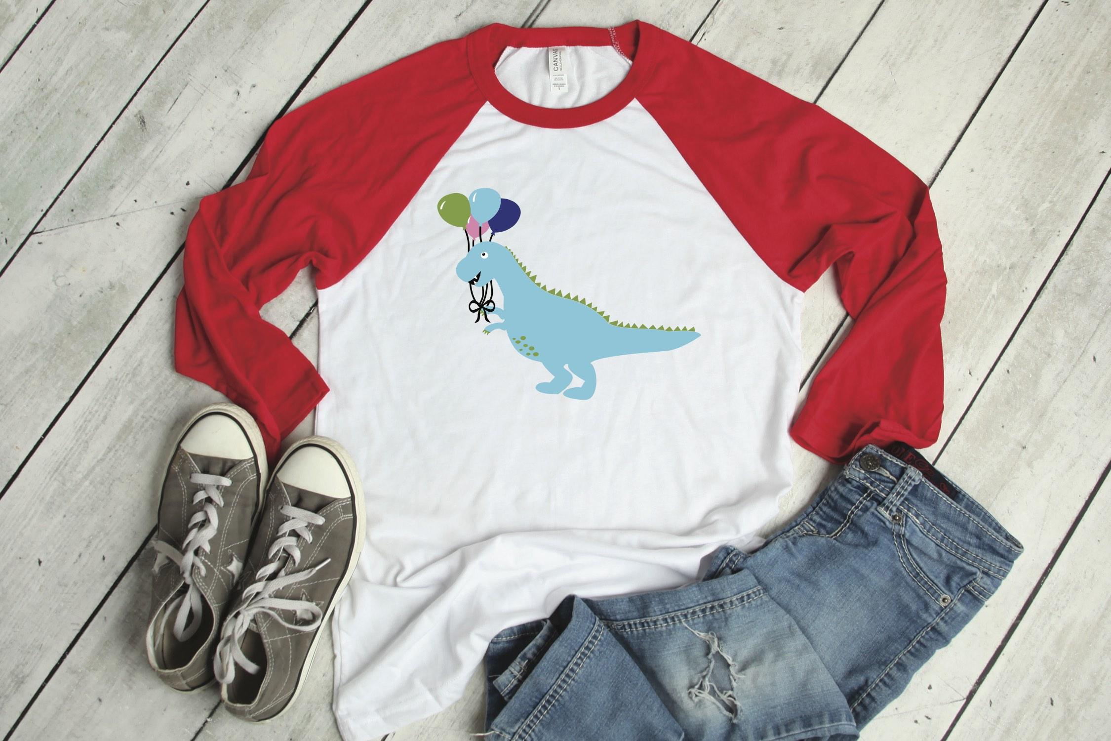 Dinosaur Party Shirt