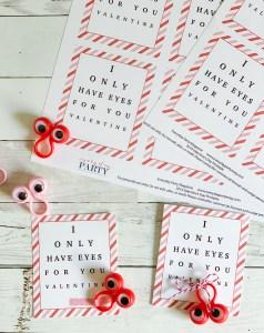 Kids Valentine's Day Cards Googly Eyes
