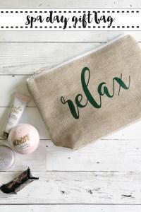 Relax Cosmetics Bag Spa Bath Candies