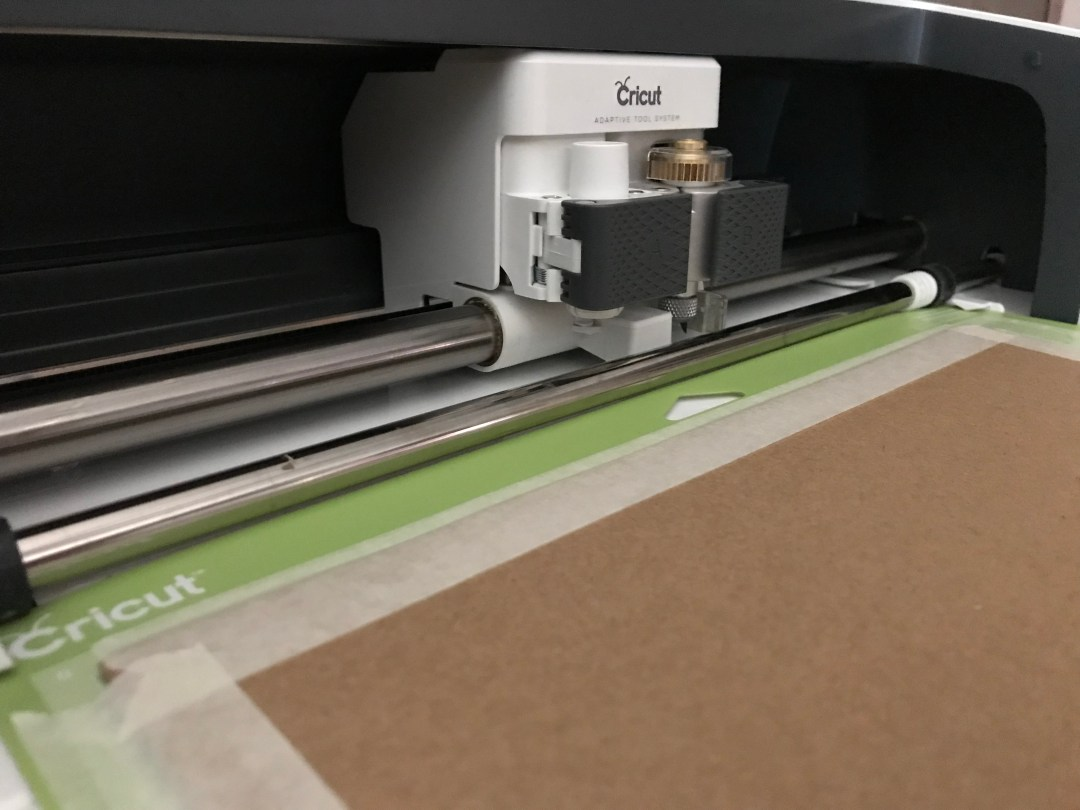 Cricut Maker Chipboard