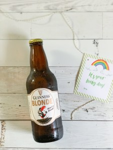 Guinness Blonde Ale Rainbow Printable Tags