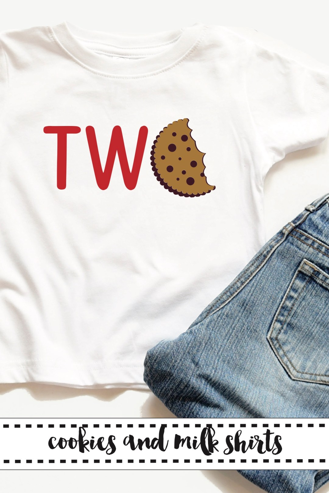 Toddler Two Cookie Shirt