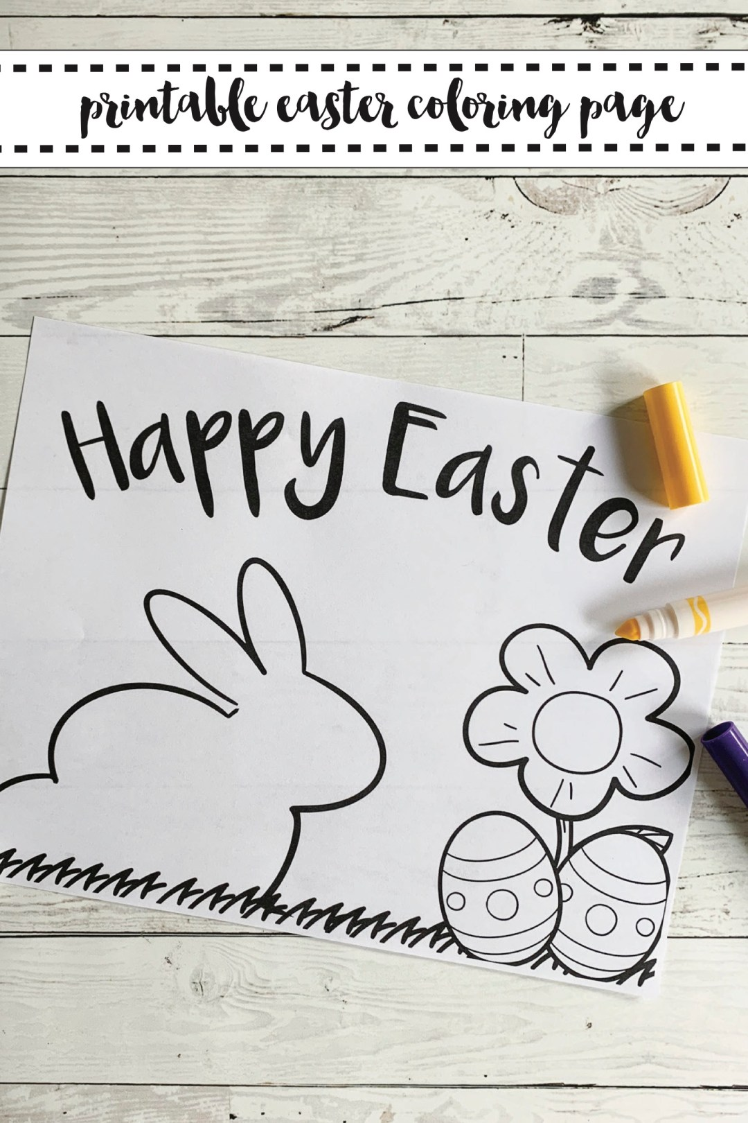 Printable Easter Activity Sheet