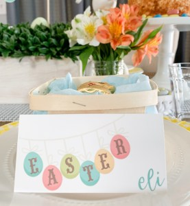 Easter Placecard