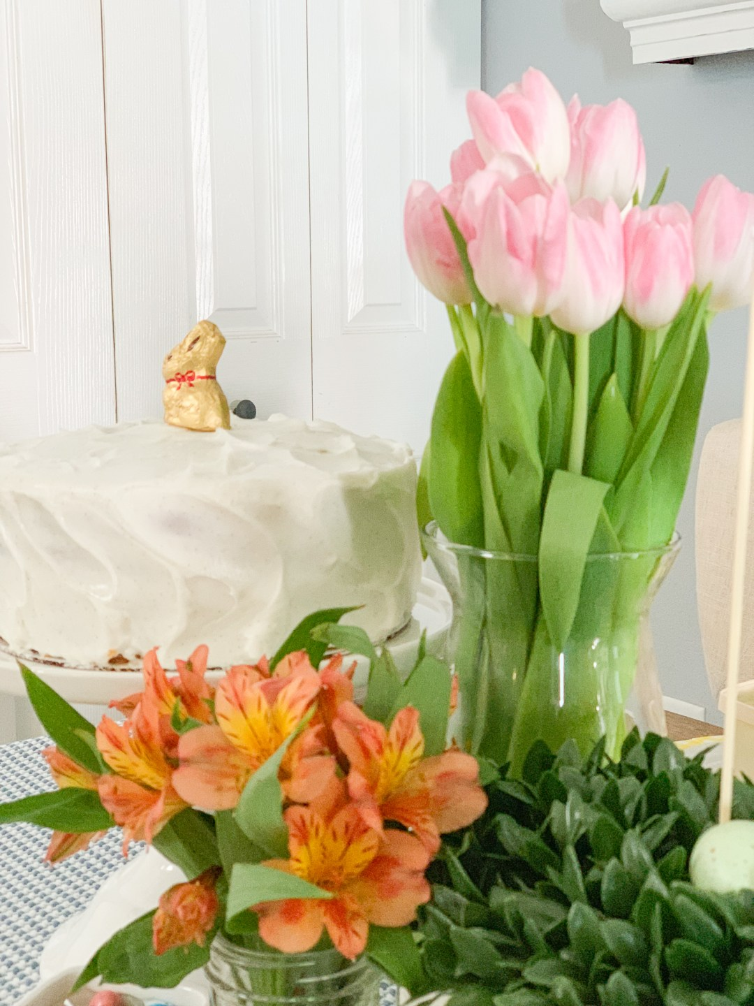 Vanilla Cake Tulips Fresh Flowers