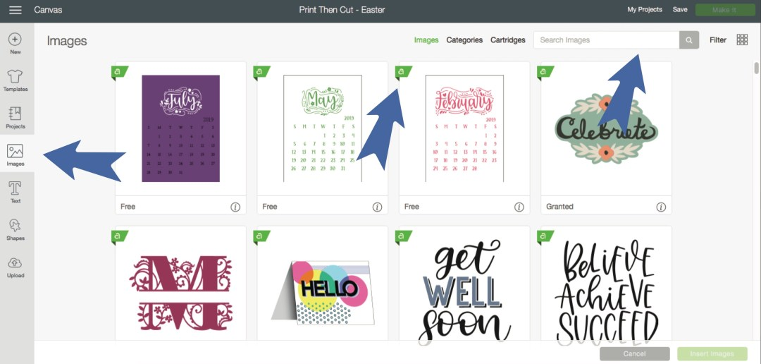 Cricut Design Space Images