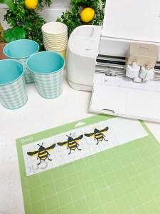 Vinyl Transfer Bees