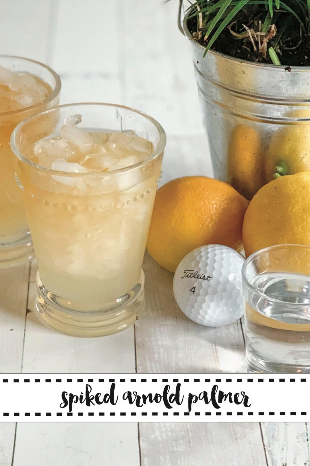 Arnold Palmers Lemons Golf Balls Tin Cup