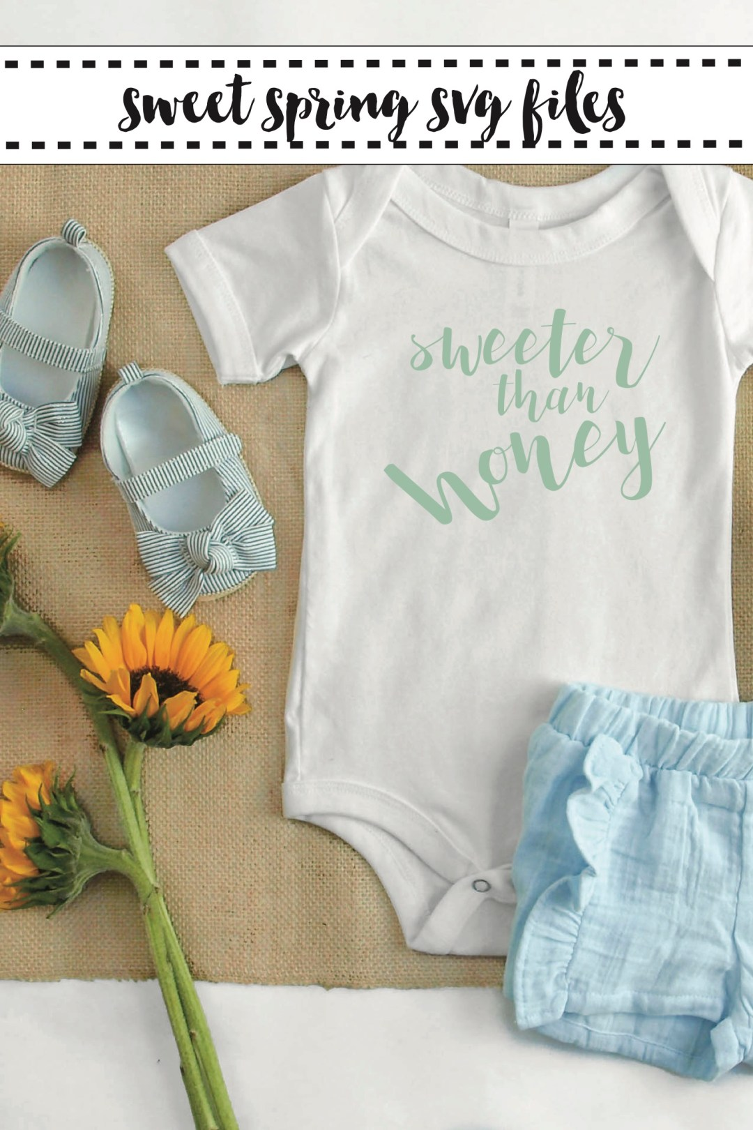Baby Onesie Flowers Baby Shoes