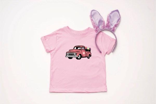 Little Girls' Easter Shirt