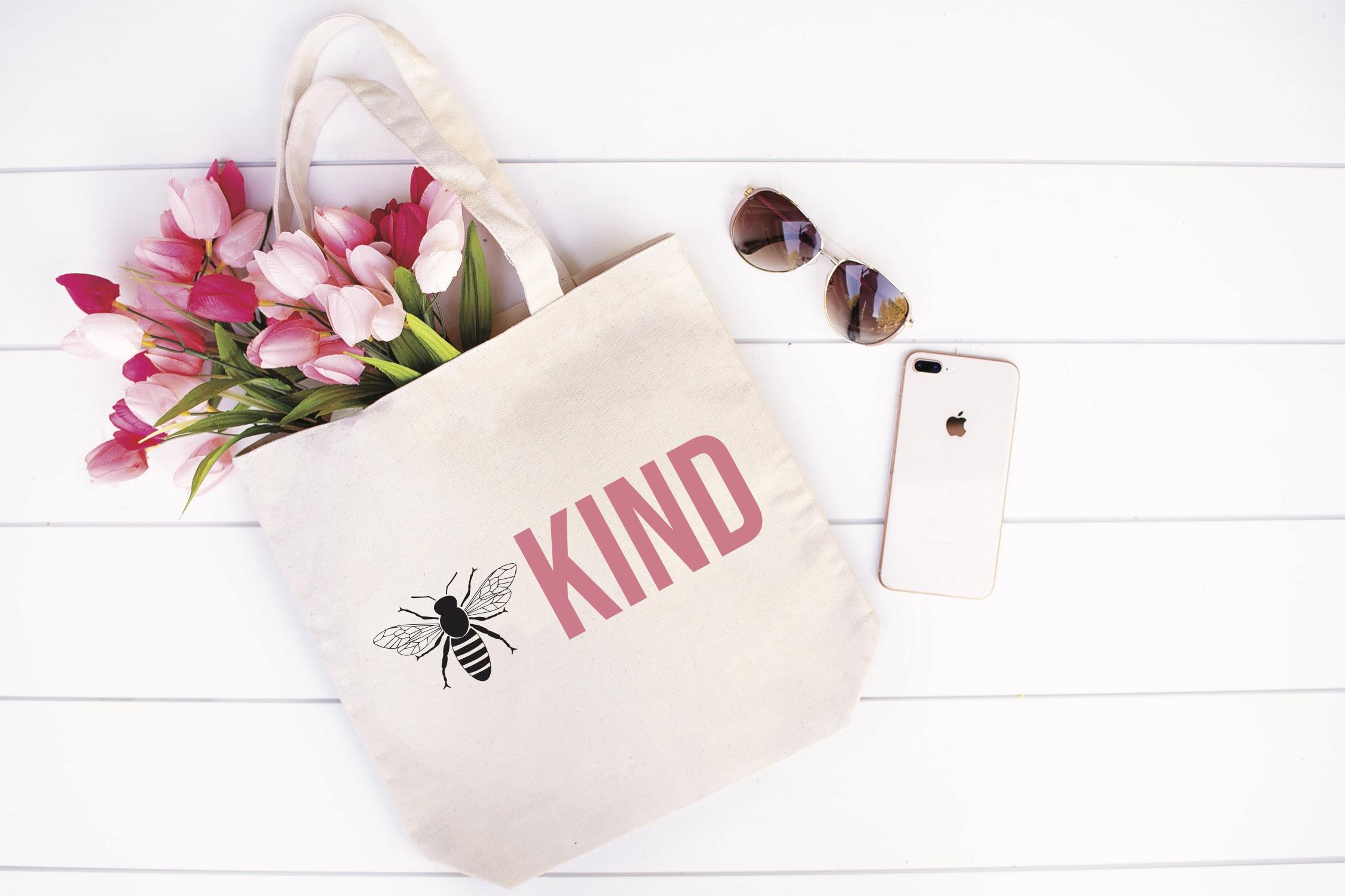Bee Kind Tote Bag Tulips Sunglasses iPhone
