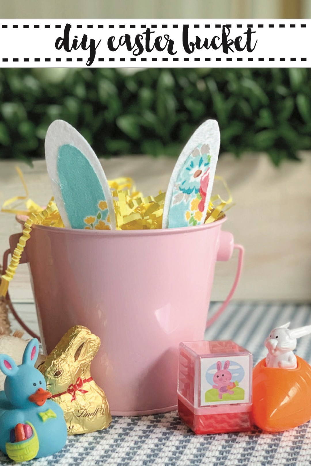 DIY Easter Bunny Bucket