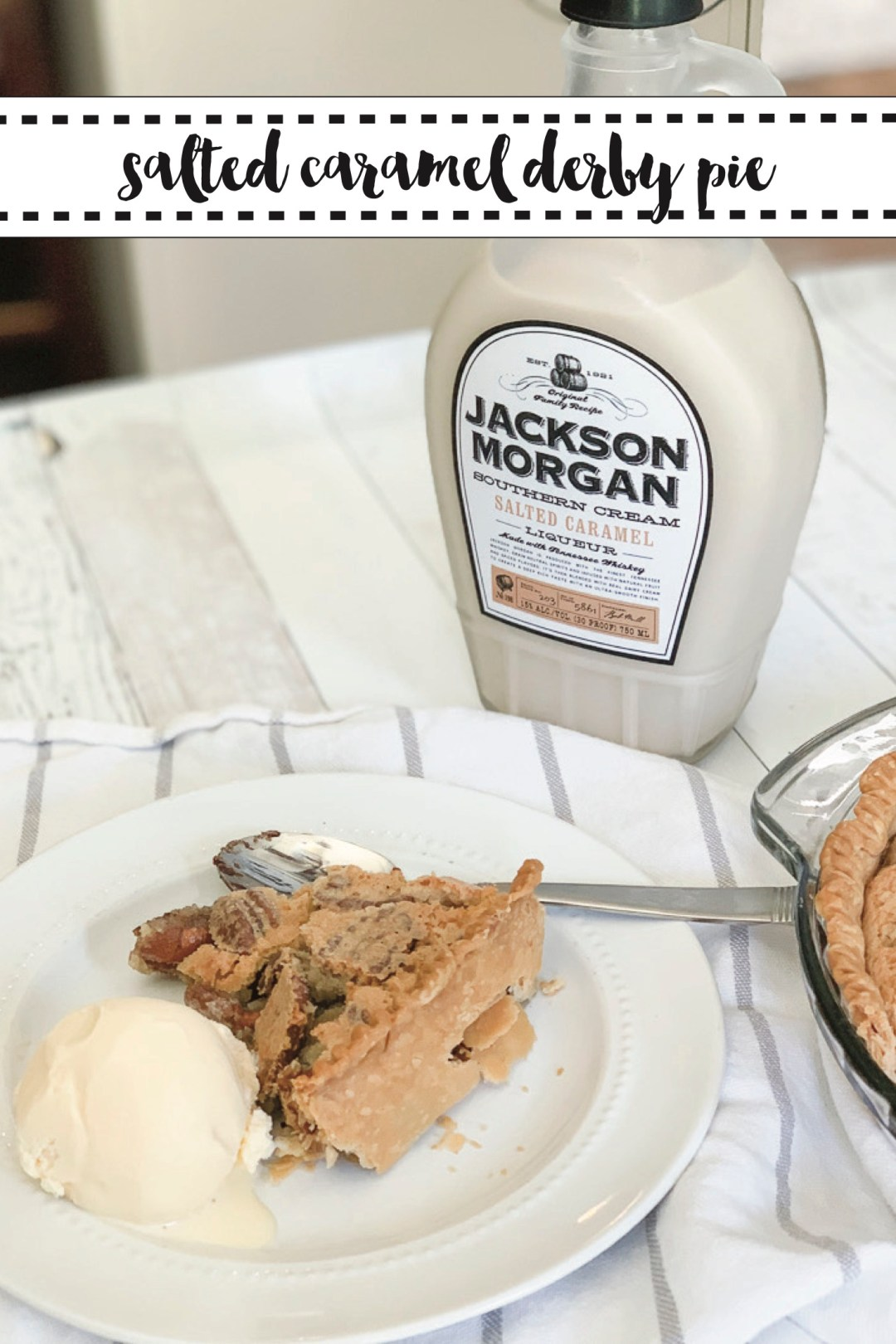 Derby Pie Ice Cream Jackson Morgan Cream