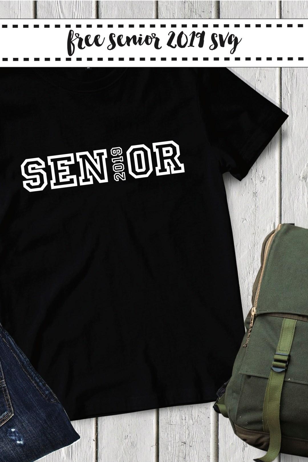 Black Senior T-Shirt