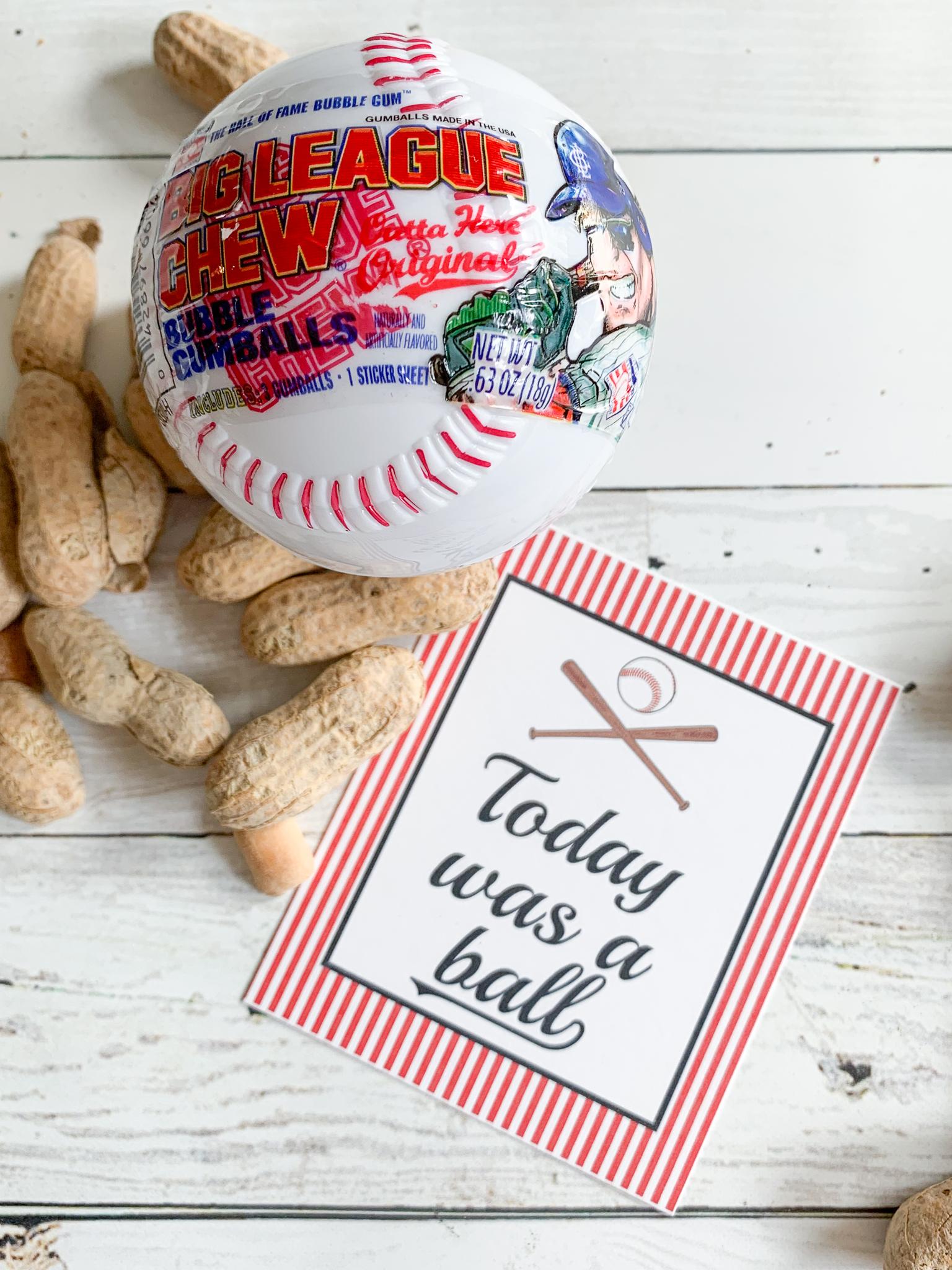 image regarding Free Printable Baseball Tags called Absolutely free Printable Baseball Tags - Each day Occasion Journal
