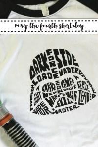 Darth Vader Shirt DIY