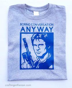 Han Solo Star Wars Shirt