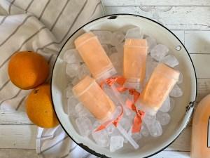 Orange Cream Popsicles