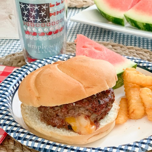 Cheese Burger Tervis Watermelon Fries