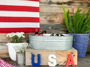Vintage Rustic Fourth of July Party