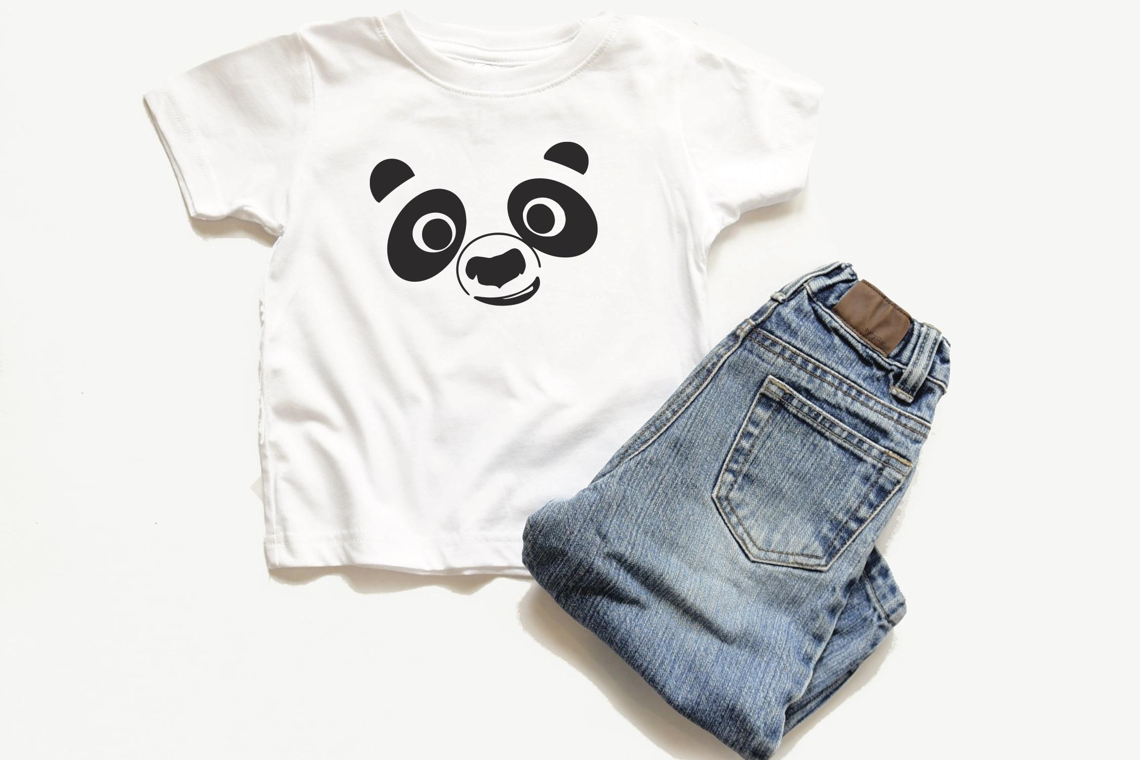 Panda Face Shirt