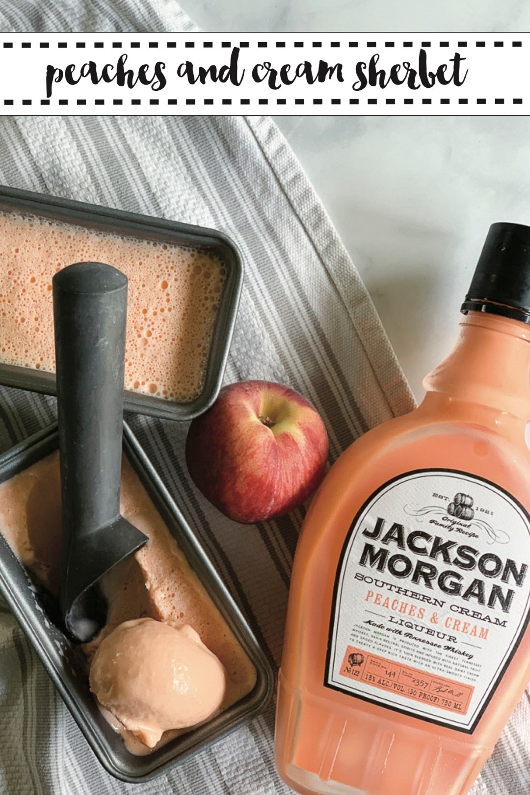 Jackson Morgan Southern Cream Peaches and Cream