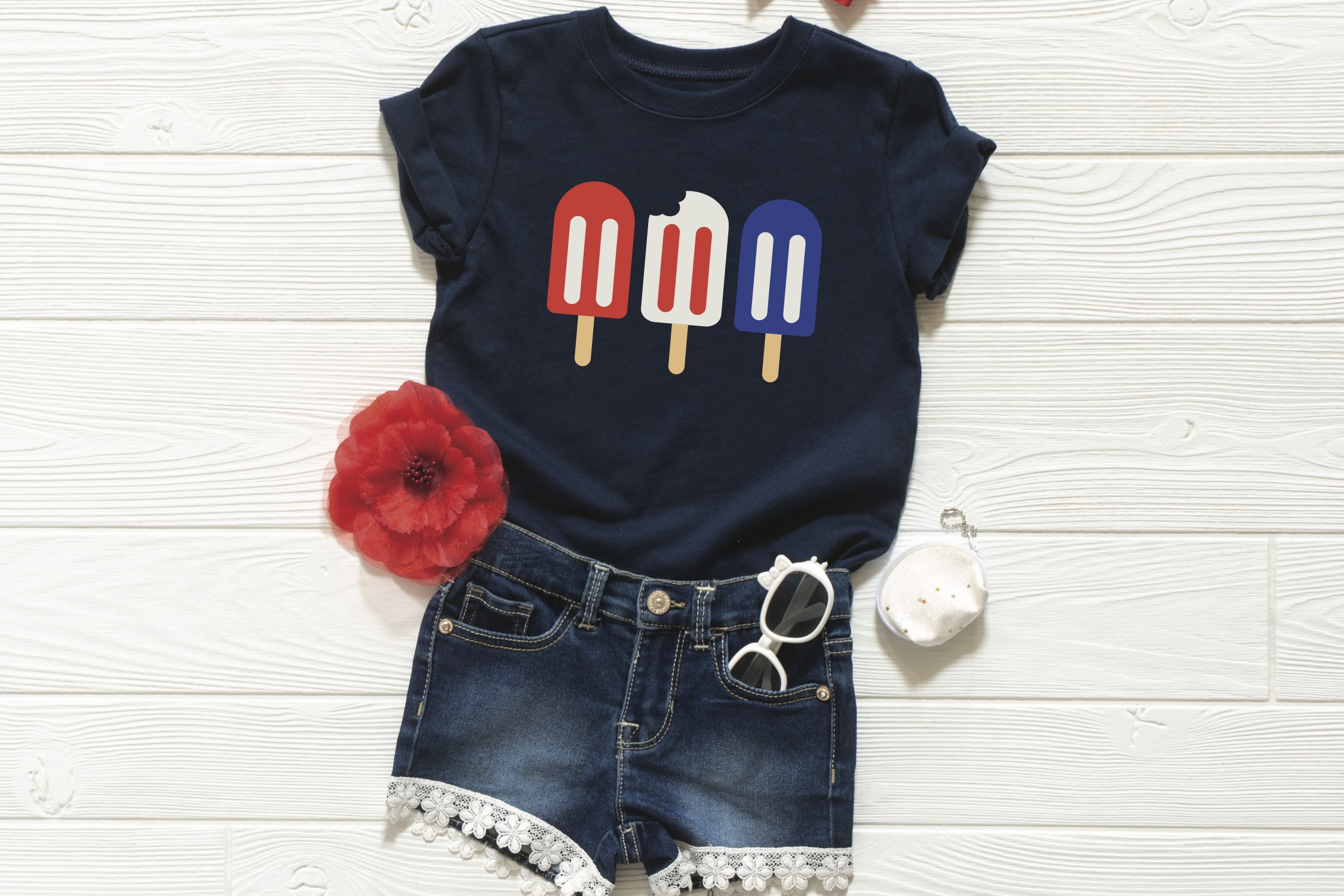 Patriotic Popsicle T-Shirt