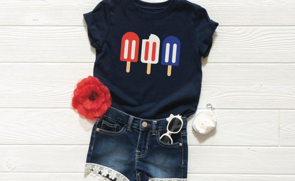 Patriotic Popsicle T-Shirt
