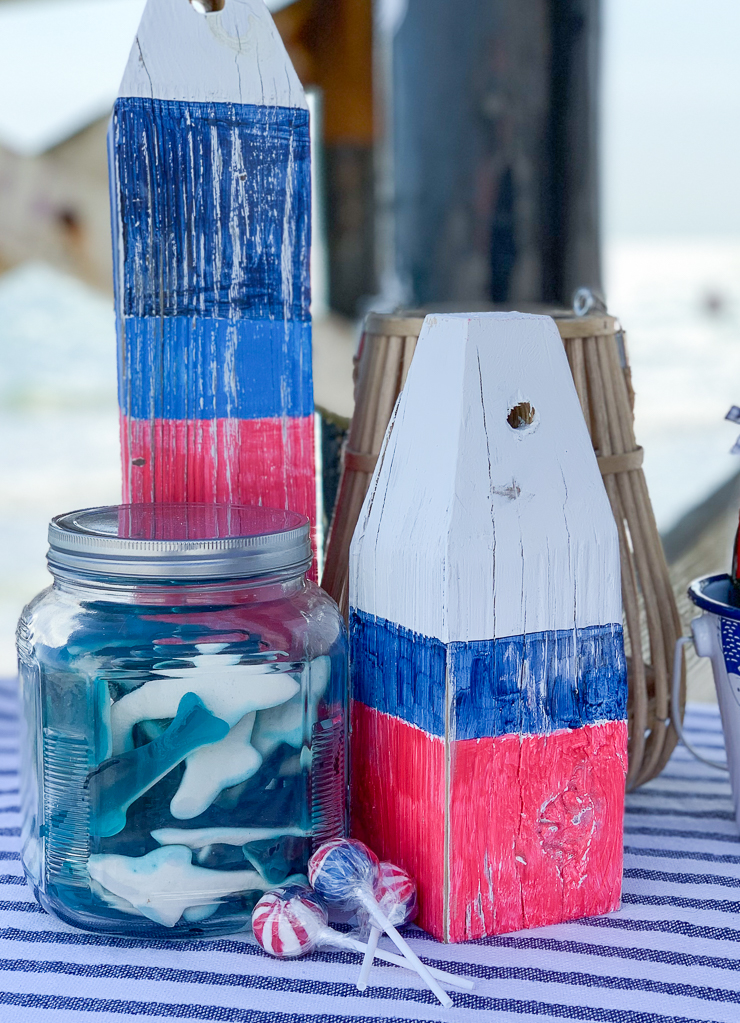 Wooden Boys Candy Sharks