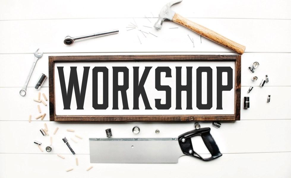 Workshop Sign Tools