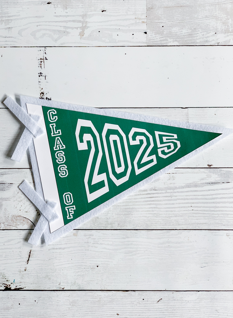 Vintage Style Pennant Banner