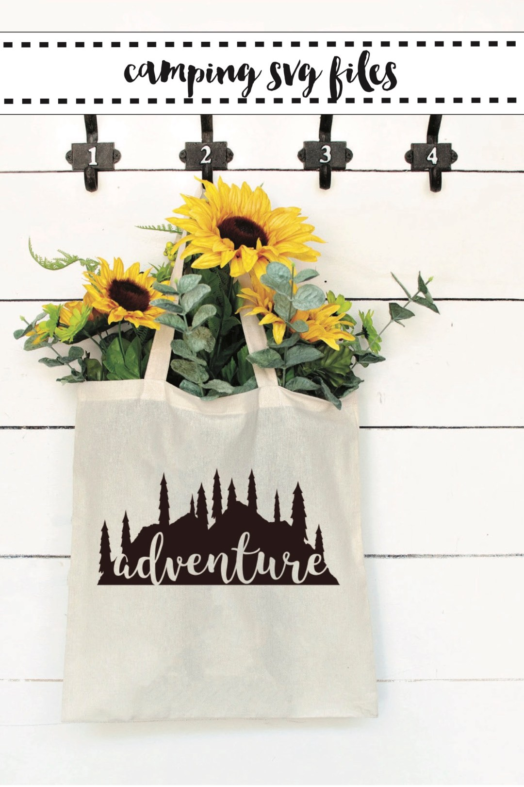 Adventure Bag Sunflowers Farmhouse