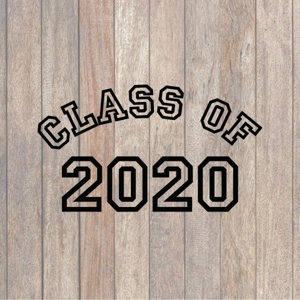 Class of 2020 SVG File