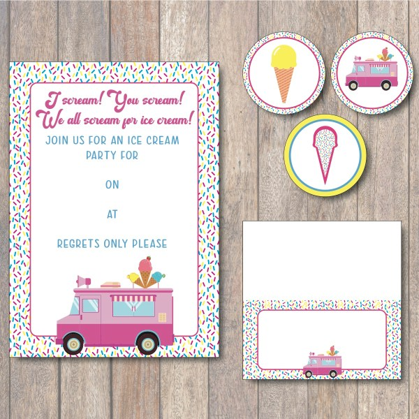 Ice Cream Party Package