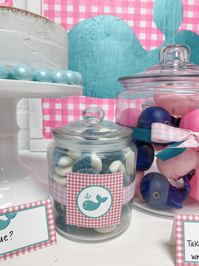 Blue Candy Rings