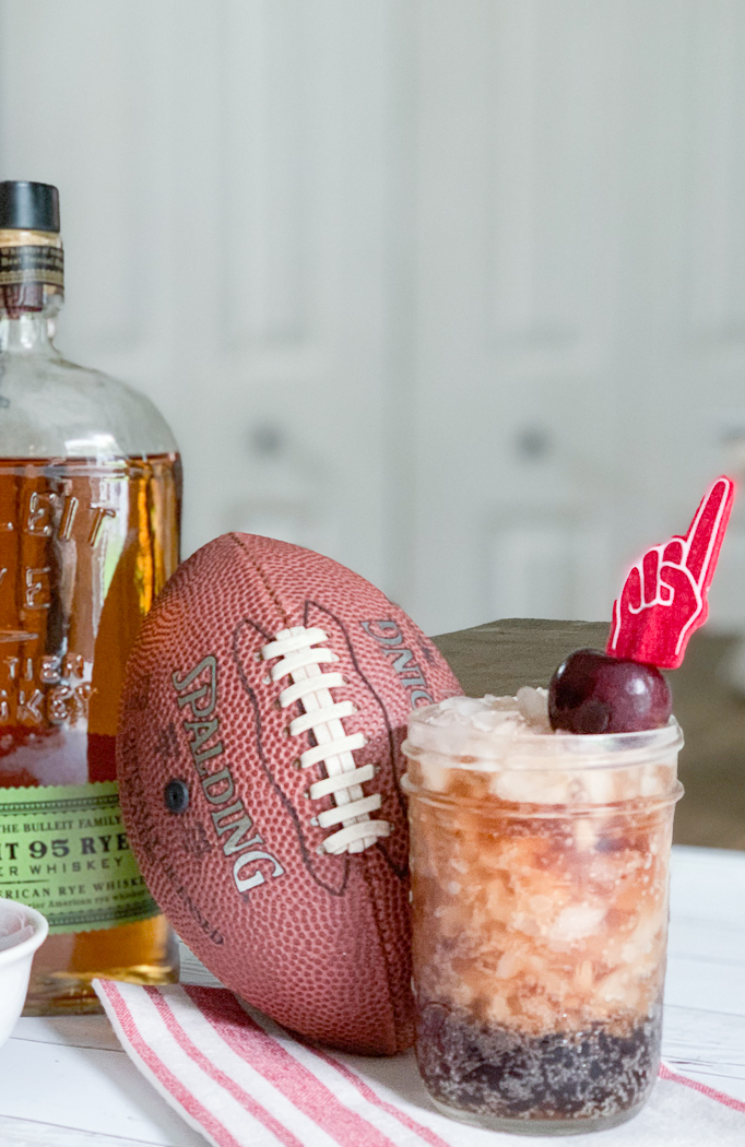 Bourbon Cocktail Football