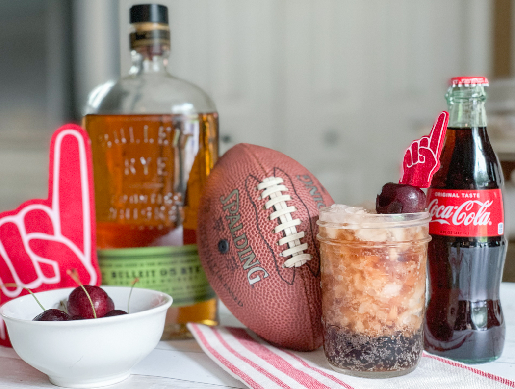 Coca Cola Cherry Football Bourbon