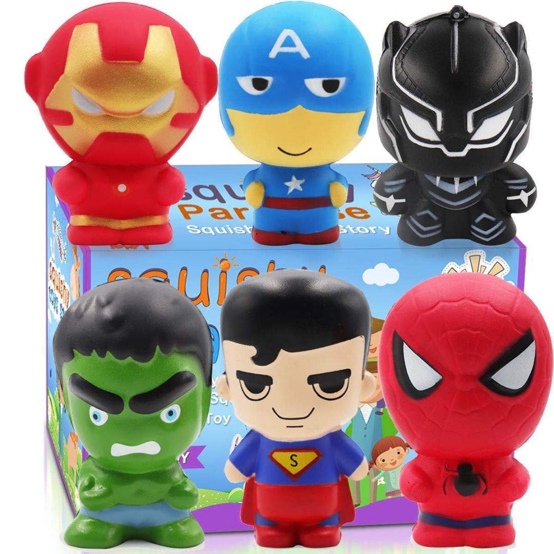 Super Hero Squishies