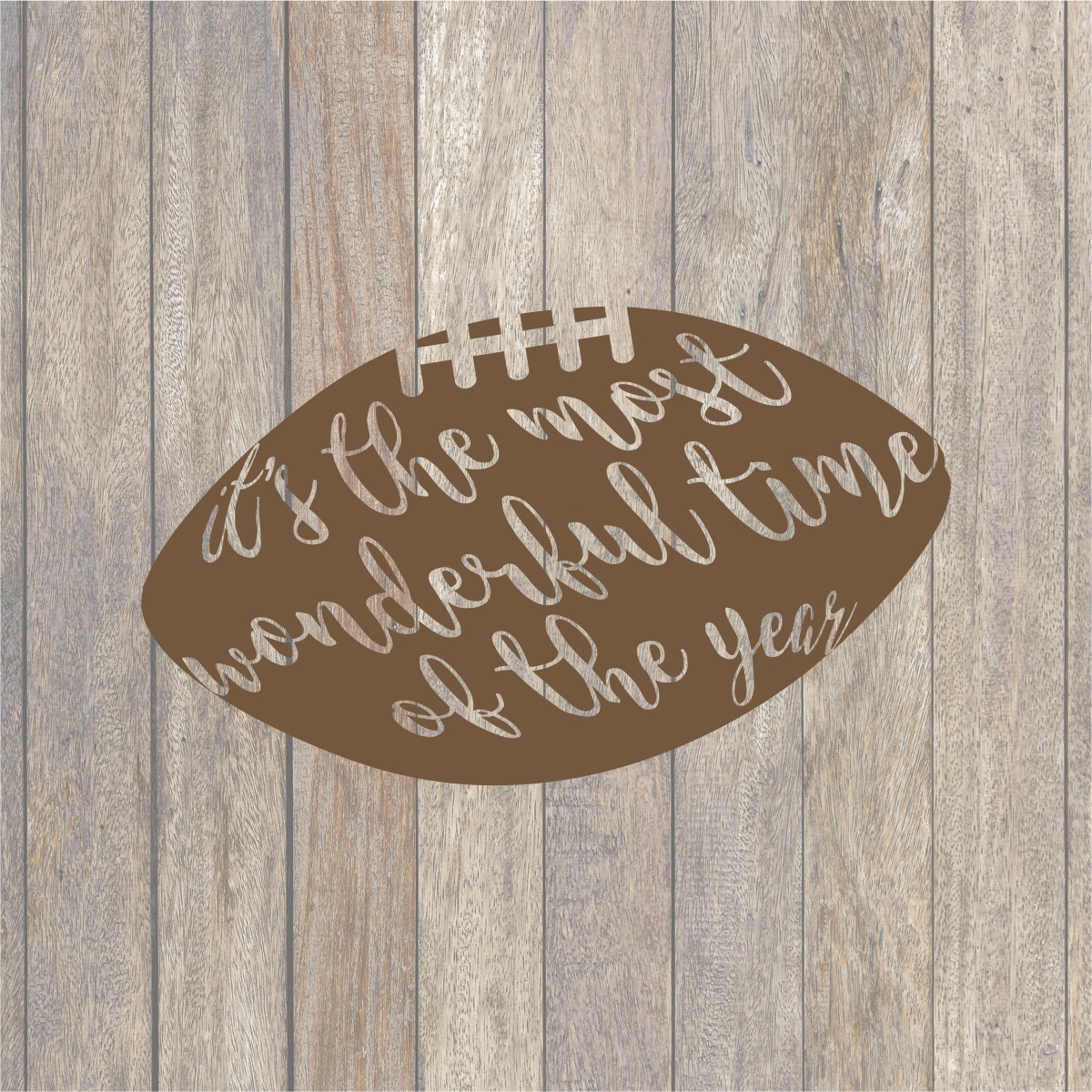 It S The Most Wonderful Time Of The Year Football Svg Shirt Football